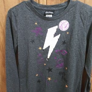 NWT 2 way sequined shirt
